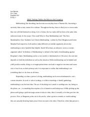 in conclusion multitasking is the ability to break up several tasks in 4 pages eng 102 essay 1 final