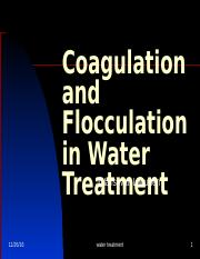 VAN LEEUWEN 2011 Coagulation and Flocculation.ppt