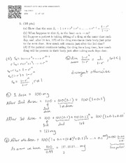MATH 1014 Test 3 Questions