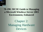 70-290 MCSE Guide Chapter 2