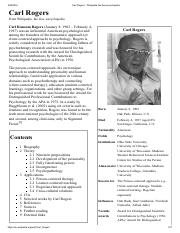 Carl Rogers - Wikipedia, the free encyclopedia