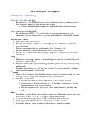 MCB 100-Chapter 1 Reading Notes.docx