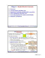 Ch4-SteadyElecCurrent