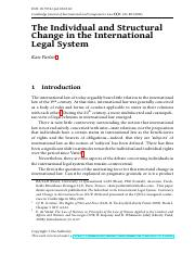 The Individual and Structural Change in the Int'l Legal System  - Parlett.pdf