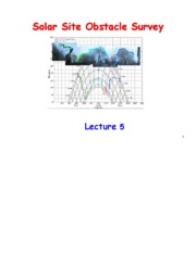 Lecture5_Solar Site Obstacle Survey_Feb9