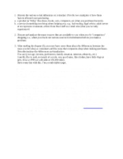 Discussion board Qs - chapter 5