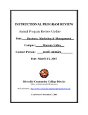 BUS MKT MAG Annual Program Review (MOV)