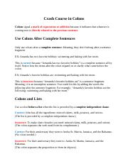 Crash Course in Colons.docx