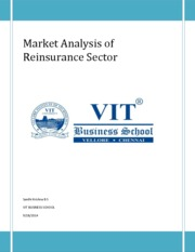 Market Analysis Of Reinsurance Sector