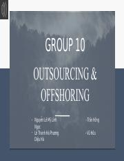 [Group10] [Outsourcing and Offshoring].pdf