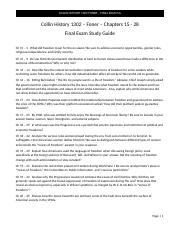 Collin History 1302 - Foner Study Guide Final (1).docx