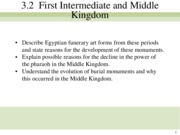 Egypt middle and new kingdom