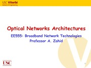 Optical_Networks_Architectures