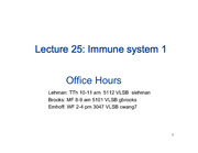 Lecture_25_immune system 1-1