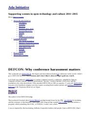 DEFCON_ Why conference harassment matters _ Ada Initiative.htm