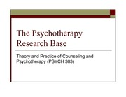 PSYCH 383_the psychotherapy research base_slides