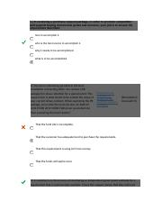 con 124 exam a 2nd test docx - Contract Execution Exam Part