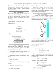 Practice Problems - Midterm 2-solutions