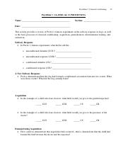Printables Psychsim 5 Worksheet Answers psychsim 5 classical conditioning name shane 2 pages 20 classicalcond