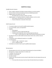 CHAPTER 4-5 Notes