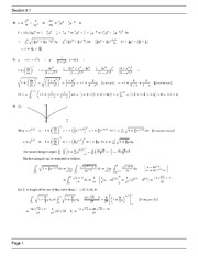 MATH 1271 Spring 2013 Homework Assingment 8.1 Solutions