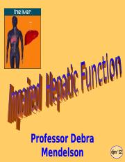 Hepatic Function - prof m.ppt