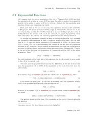 Section 2: Exponential Functions