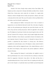 Philosophy Paper on Judgment