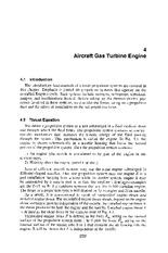 Chapter 4 - Aircraft Gas Turbine Engine