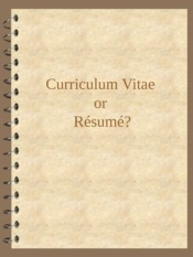 01 Resume Writing