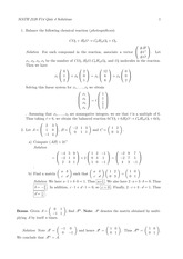 MATH 2120 Fall 2014 Quiz 4 Solutions