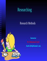 Researching-Final