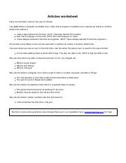 Articles_worksheet