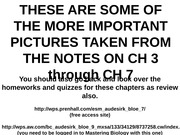 Exam 2 Review pictures on CH 3 to CH 7