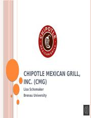 Chipotle Mexican Grill, Inc