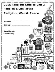 War and Peace booklet