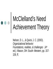 2453 McClelland Need Ach Theory 1112