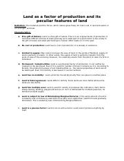 LESSON-Land as a factor of production and its peculiar features of land.docx