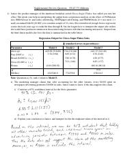 Supplementary Midterm Review Questions - Solutions.pdf