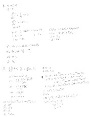 Test 3 Rev 1 Solution on Applied Differential Equations