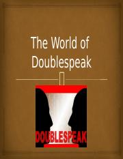 What-is-Doublespeak