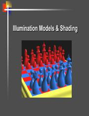 04 - Shading  Lighting