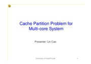CachePartitionProblem