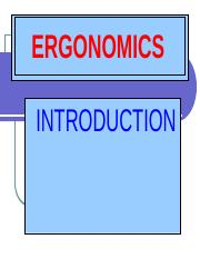 Chap I - Ergonomics-Introduction.ppt