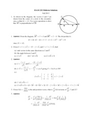 Midterm Solutions 1