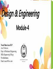 Designforx 160407073544 Pdf Design Engineering Be 102 Module 4 Naseel Ibnu Azeez M P Asst Professor Dept Of Mechanical Engineering Mea Engineering Course Hero