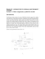 hnp nptel syllbus pdf - NPTEL Syllabus Fluid Power Control Web