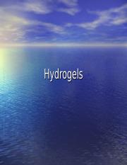 hydrogels.ppt