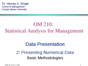 2 Numerical Data - Basics