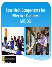 Four Main Components for Effective Outlines (1) (1).pptx